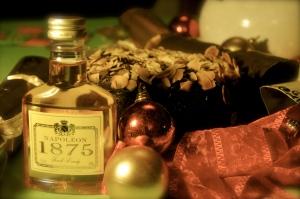 Pynchon Christmas brandy cake