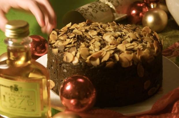 Pynchon Christmas cake