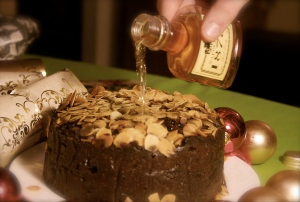 Fruitcake brandy Pynchon