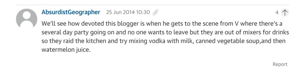 Guardian comment V vodka